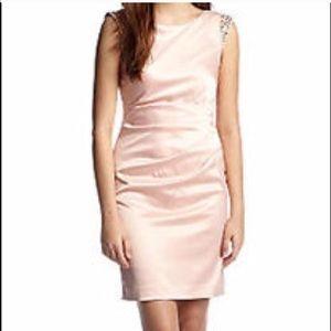 Dresses & Skirts - Vince Camuto blush pink Satan dress with stone